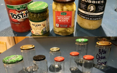 Less Plastic – Easy Glass for Food!